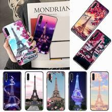 Paris torre eiffel arte padrão telefone estojo para samsung galaxy s 9 10 20 a 10 21 30 31 40 50 51 71 s nota 20 j 4 2018 plus