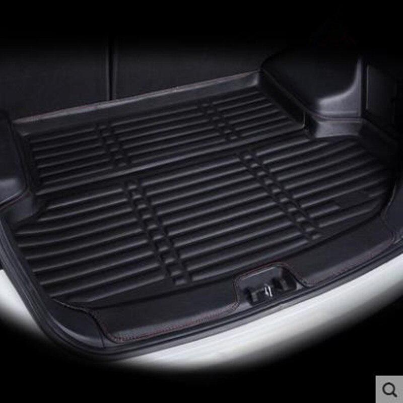Car Cargo Liner For Volkswagen VW Golf 7 / GTI R Mk7 Hatchback Hatch 2013 2014 2015 2016 2017 2018 Trunk Liner Boot Cargo Mat Tr