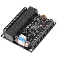 Plc Programmable Controller Dc 24V Plc Regulator Fx1N 20Mr Industrial Control Board Programmable Logic Controller AC/DC Adapters Consumer Electronics -