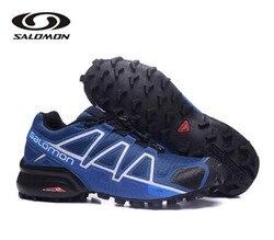 Salomon velocidade cruz 4 cs cross-country tênis de corrida marca masculino atlético esporte sapatos speedcros esgrima sapatos