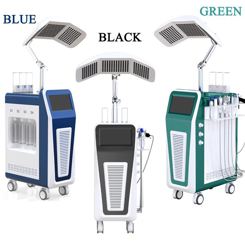 9 IN 1 Skin Rejuvenation, Seven LED Treatments, Facial Cleansing, Deep Hydration Improve Skin Quality Skin Care Beauty Equipment