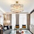 Постмодерн Led подвесные светильники Роскошные скандинавские гостиная столовая хрустальная лампа светильники простой кристалл спальня под...