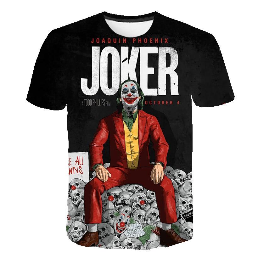 Cloudstyle Novelty 3D Tshirt Men Joker Why So Serious 3D Full Print Harajuku Streetwear Fashion Tees Shirt Tops Plus S-6XL