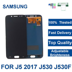 5.2 ''J530 wyświetlacz LCD do Samsung Galaxy J5 Pro 2017 J530F SM-J530F LCD z ekranem dotykowym Digitizer zgromadzenie regulacja jasności