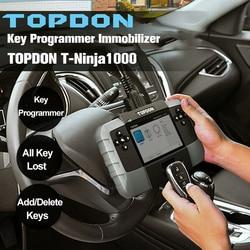 TOPDON T-Ninja1000 Key Programmer Immobilizer All Keys Lost for Entry-Level Locksmiths Professional Mechanics Automotive Tool