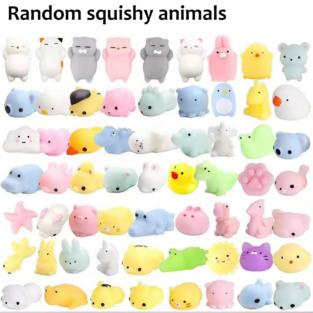 Fidget Toys Pack-Set Stress-Ball Mystery-Box Soft-Sensory-Kit Push Bubble Poppit Popit-Dimple img5