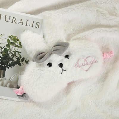 Kaninchen Bär Auge Maske Cartoon Vielzahl Schlaf Maske Plüsch Abdeckung Kinder Eyeshade Entspannen Maske Geeignet für Gefüllte Spielzeug Geschenke