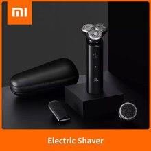شاومي Mijia ماكينة حلاقة كهربائية S500C S500 3 رأس فليكس حلاقة جافة الرطب حلاقة قابل للغسل المحمولة اللحية المتقلب الوجه التطهير 3 في 1