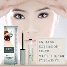 1 pc feg cílios tratamentos de crescimento soro maquiagem cílios crescimento poderoso maquiagem enhancer cílios crescimento líquido alongamento tslm1
