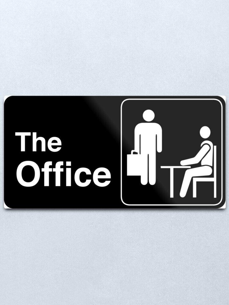 В офис, ТВ-шоу металлический логотип печати жестяная вывеска бар Домашний Настенный декор из металла Арт плакат