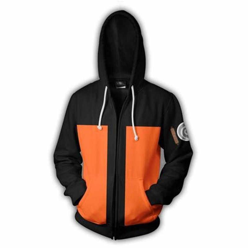 Unisex Cosplay Kostuum Anime Naruto Voor Mannen & Vrouwen 3D Digitale-Printing Sweatshirts Big Size 3XL 4XL 5XL Hooded jas Blouse