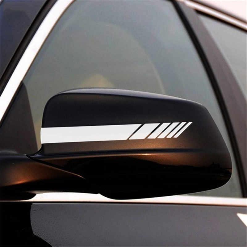 2020 naklejki samochodowe naklejki na lusterko wsteczne Car Styling klej pojazd szyba okienna odblaskowa naklejka drzwi tylna szyba