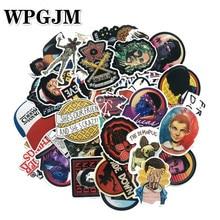 50pcs/pack Sticker No Duplicate Stranger Thing Children on Laptop Suitcase Guitar Skateboard PVC Cool Fashion Stickers