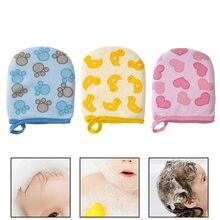 Хлопковые детские перчатки для ванной губка душа детей и взрослых
