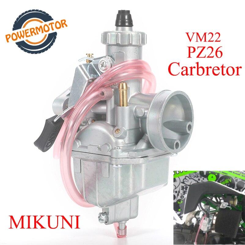 Высокая производительность Mikuni VM22 карбюратор PZ26 26 мм Carb carburador ForCRF70 125 140 150 160cc XR50 Lifan YX SSR горизонтальный двигатель