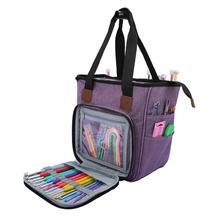 Knitting Bag Tote Wool Crochet-Hooks Sewing-Needles-Storage-Bags Yarn Oxford Multi-Function