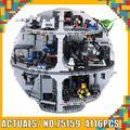 El 05063 Compatible con Legoinglys Wars Plan serie 75159 estrella de la muerte bloques de construcción ladrillos juguetes educativos regalo de cumpleaños