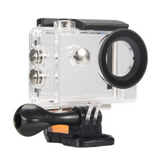 Sport Waterproof Case Housing Durable Underwater Photograph Protect Transparent Accessories Action Camera Use For EKEN H9R(China)