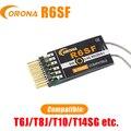 Corona R6SF 2 4 ГГц S-FHSS/FHSS совместимый микро-приемник 6Ch для FUTABA T6J/T8J/T10/T14SG и т. Д.