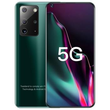 Galay S21+ Ultra 7.2 Inch Smartphone 4G 5G Unlock 16MP+32MP 12GB+512GB 5800mAh Mobile phones Telefon Smartphone Global Version 4