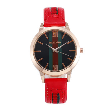 цена на Top New Fashion Luxury Leather Women Watches Ladies Watch Woman Dress Quartz Watch Female Gift Clock Montre Femme Relojes Mujer