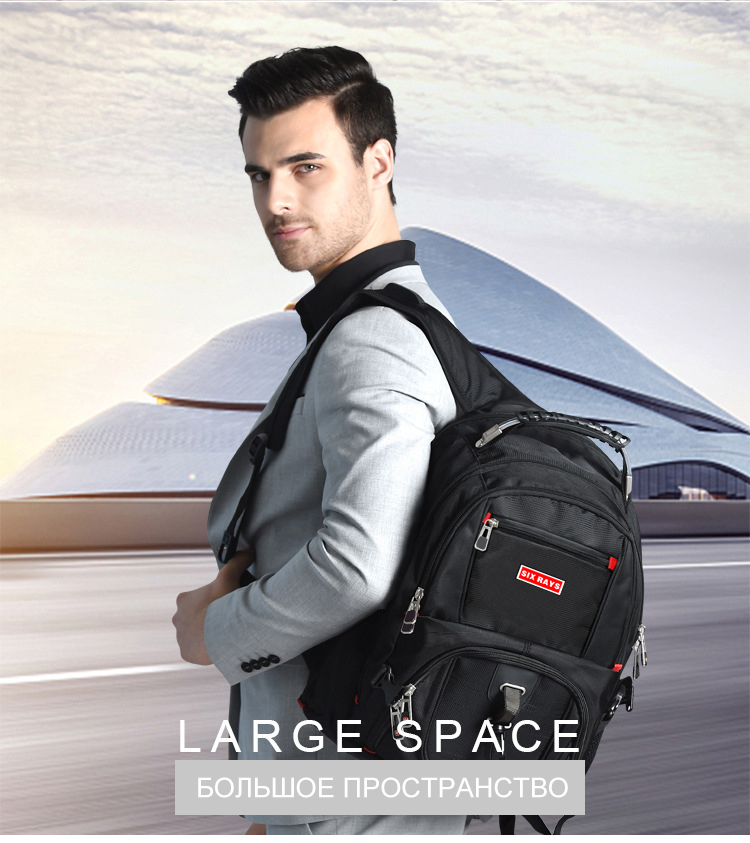 externo suíço computador mochilas anti-roubo mochila sacos