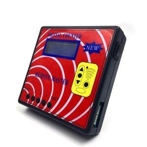 Image 2 - Contatore digitale telecomando Master porta del Garage programmatore chiave misuratore di frequenza remoto rotazione fissa copiatrice remota telecomando RF