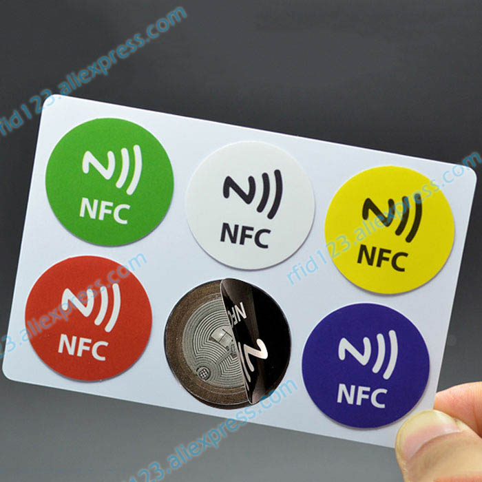 On-Metal NFC Sticker Anti-Metal Tag 6 Pieces NFC Sticker