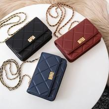 free shipping the new style Diamond Lattice genuine cow leather women one shoulder bag crossbody bag mini and cute bag  3 color ethnic style women s crossbody bag with hollow out and color matching design