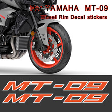 black-blue Stickers Decals For motorcycle Stripes fits for YAMAHA MT-09 MT09 MT 09 wheels rims tank body Reflective Inner black blue stickers decals for motorcycle stripes fits for yamaha mt 09 mt09 mt 09 wheels rims tank body reflective inner