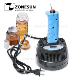 ZONESUN 20-100mm Hand Held Electromagnetic Induction Sealer Honey Plastic Glass Bottle Cap Tin Aluminum Foil Sealing Machine