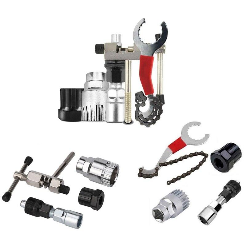 Multifunction Bicycle Repair Tool Kits Chain Cutter Bottom Bracket Remover Freewheel Crank Puller MTB Removal Tools|Bicycle Repair Tools| - AliExpress