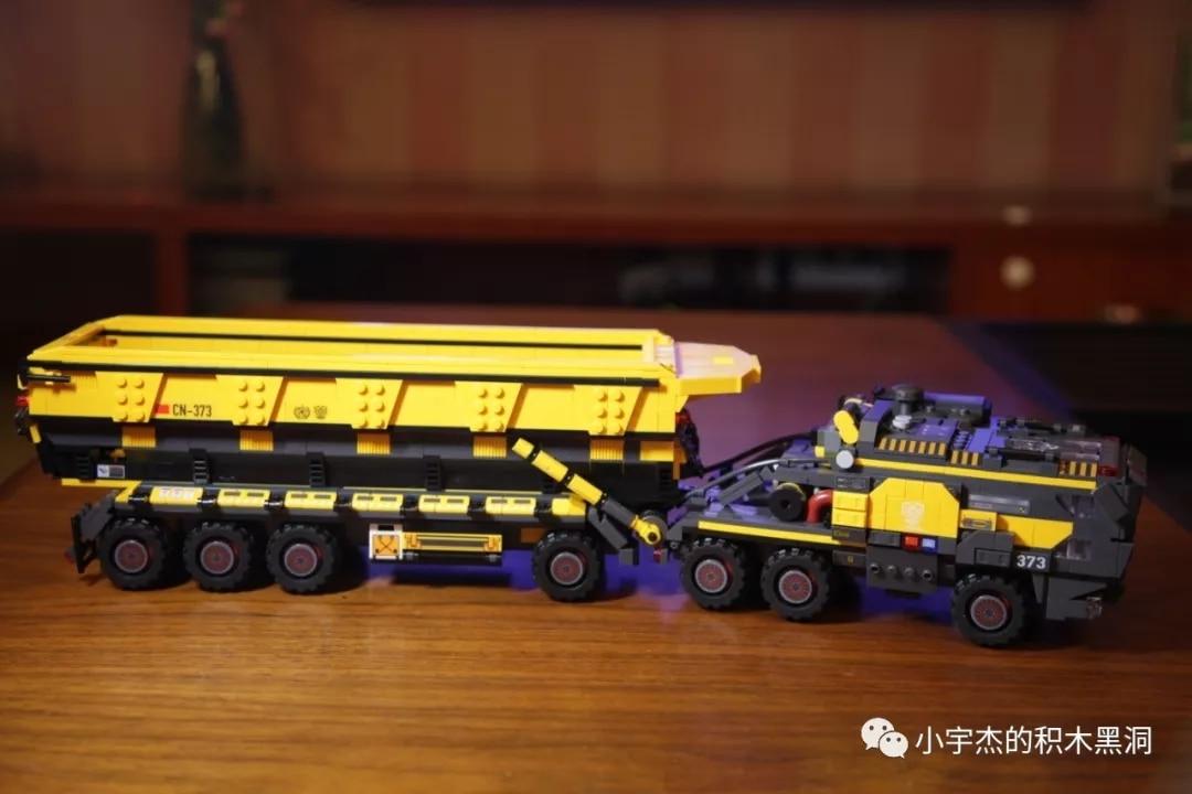 IN STOCK 107006 1535pcs creator Technic Movie series Cargotruck-Iron OreTruckl Building Blocks Brick Kids Toys Christmas Gift 4