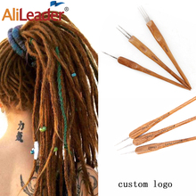 Hot Sell 1/Pcs Hair Fashion Hook Needle Handle High Quality Crochet Needle Braids Hair Dreadlocks Needle Accessoires Tools