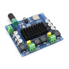 Placa amplificadora Digital Bluetooth 5,0, módulo amplificador de Audio estéreo TDA7498 2x100W, compatible con tarjeta TF AUX