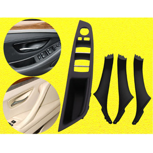 Image 4 - 7Pcs Interior Inner Door Handle Pull Trim Grip Cover for BMW F10 F11 F18 F30 520i 525i 5 Series Left Hand Driving Car Styling