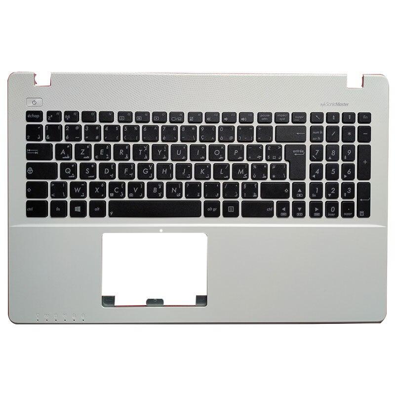 AF/AR/CZ/SV/TR/UK Laptop Keyboard for ASUS X550 K550V X550C X550VC A550L Y581C F550 R510L X550J X550V Palmrest upper Cover