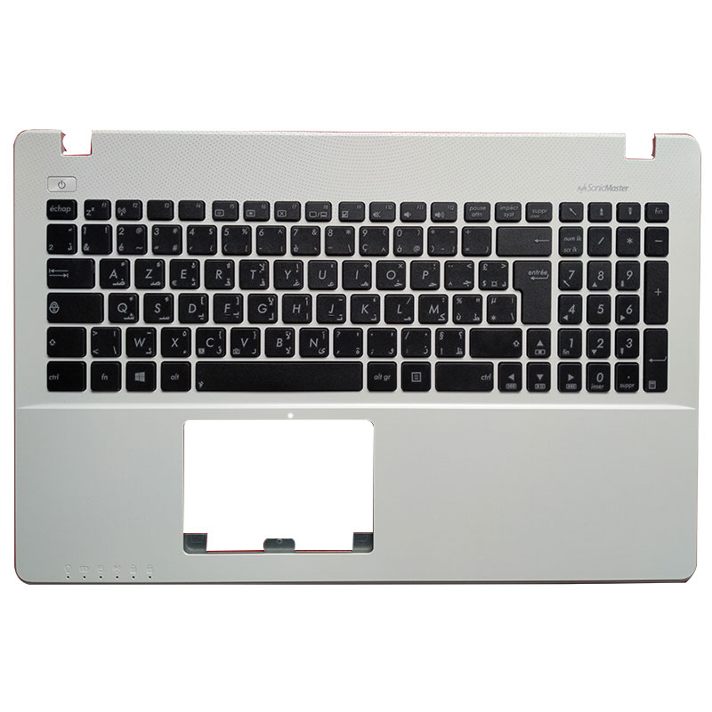 AF/AR/CZ/SV/TR/UK Laptop <font><b>Keyboard</b></font> for <font><b>ASUS</b></font> <font><b>X550</b></font> K550V X550C X550VC A550L Y581C F550 R510L X550J X550V Palmrest upper <font><b>Cover</b></font> image