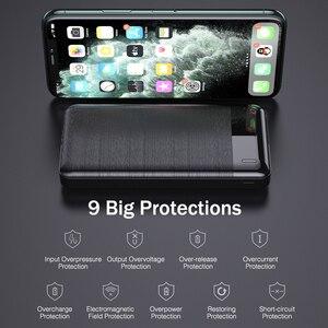 YKZ Mini Power bank 30000 mAh Bank Portable Charging Poverbank Mobile Phone External Battery Charger Powerbank for iPhone Xiaomi