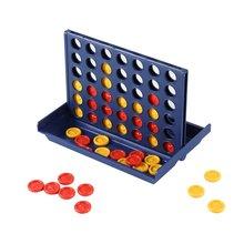 Развивающие игрушечные шахматы Ren Toys-игра бинго четыре четырехъярусная шахматная доска Вертикальная синяя вертикальная Соединительная доска шашки