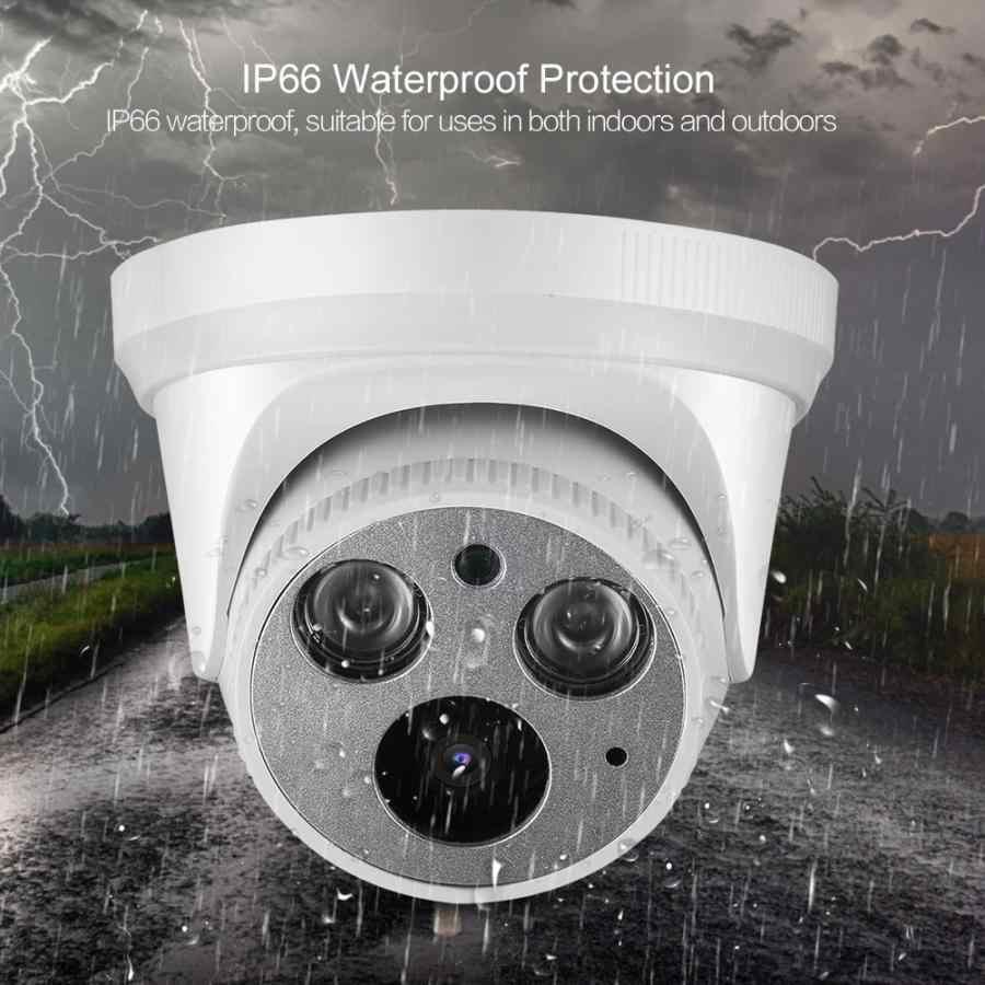 Camera IP PoE Dome Chống Nước Ngoài Trời 2560X1440 Video Giám Sát Nhà IP An Ninh Cho ONVIF