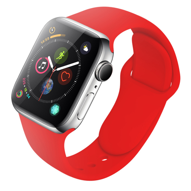 Pulseira de Silicone para Apple Watch 38mm / 42mm 2