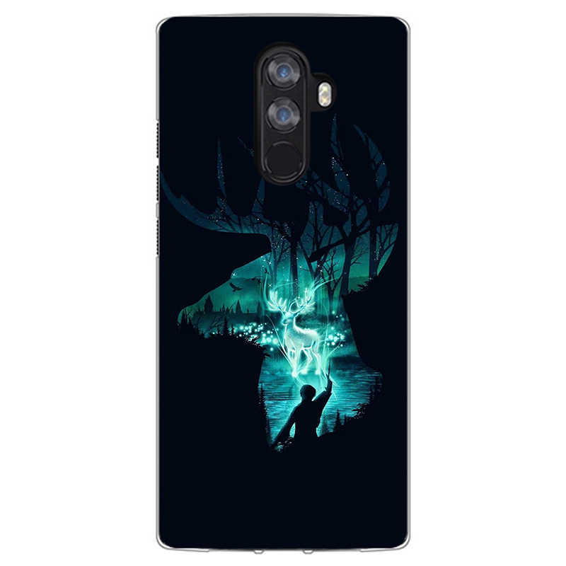 Kartun Cetak Lembut Tpu Ponsel Case Penutup untuk Doogee X70 X60 X60L X50 X55 X30 X20 X20L X9 Mini X5 max Fundas Phone Case Cover