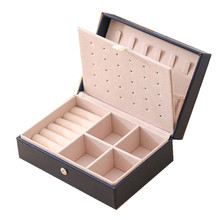New Leather Jewelry Display High Quality Fashion Design Ring box Gift Choice Love recomended Factory Sale