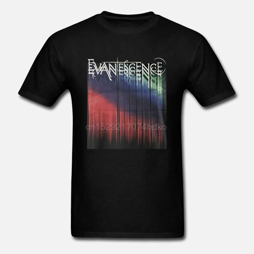 Officiële Evanescence Tour Logo T-shirt Overal Maar Thuis Oorsprong Niet Voor Jou Ea