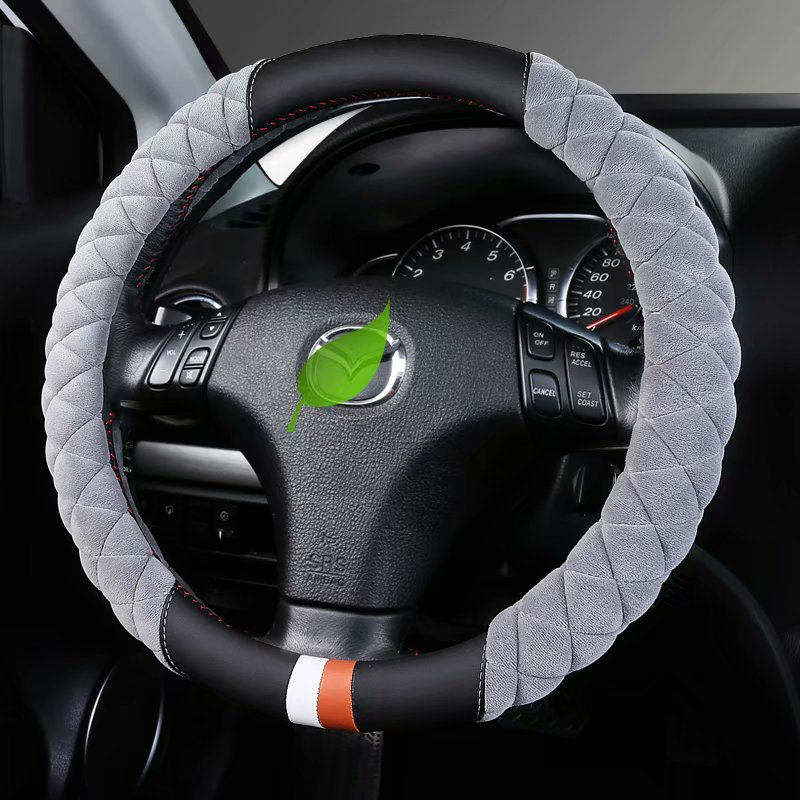 Plush Warm Car Steering Wheel cover for Mazda 2 Demio Axela Mazda3 Atenza Mazda6 CX 3 CX 5 CX 8 CX 9 Wagon BT 50 Premacy 5 7|Steering Covers| |  - title=