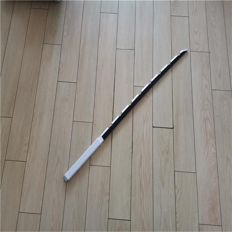 Kimetsu No Yaiba Sword Weapon Demon Slayer Hashibira Inosuke  Cosplay Sword 1:1 Anime Ninja Knife PU 104cm