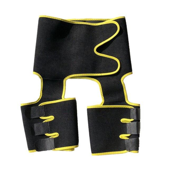 Women's Hip Belt Sweat-breaking Plastic Belt Sports Fitness Adjustable Conjoined Waist Leg Belt Fitness Shaping Belt 5