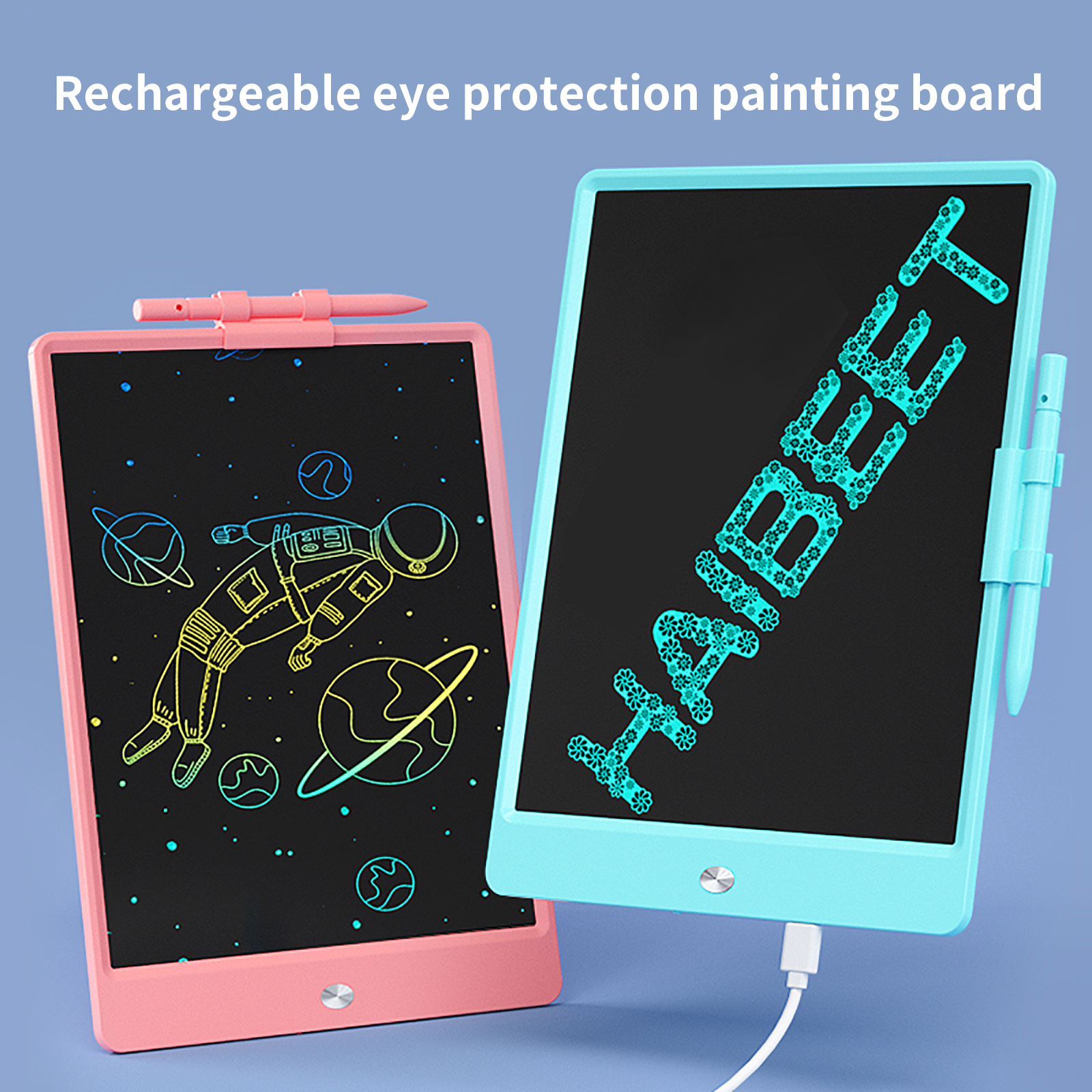 10 Inch Rechargeable Drawing Board Anti-Fall And Durable Eye Protection Screen Drawing Board Children's Portable Drawing Board