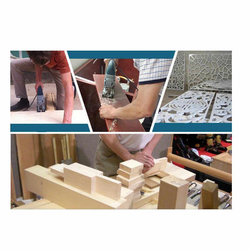 Hard Hout Curve Cut Voor Home DIY 5Pcs DIY Snijgereedschap Voor Houtbewerking Legering Staal Zaagblad T244D Ijzerzaag jig Zaagblad Set